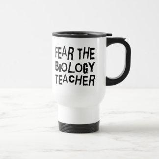 Funny Biology Teacher Travel Mug