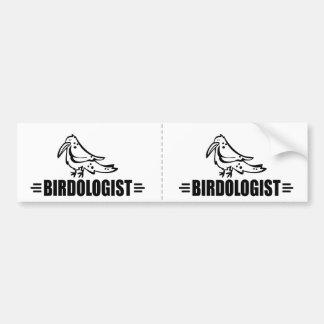 Funny Bird Bumper Sticker