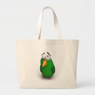 Funny Bird Canvas Bag