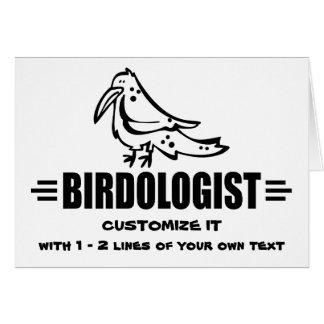 Funny Bird Card