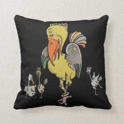 Funny Bird Cushion