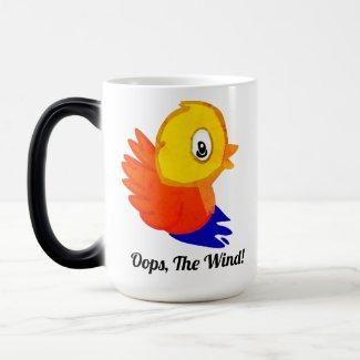 Funny Bird Magic Mug