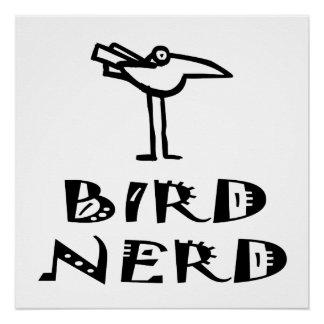 Funny Bird Nerd Birdwatching Birding Birder Poster