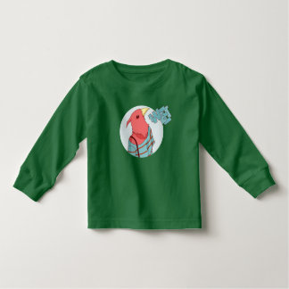 Funny bird toddler t-shirt