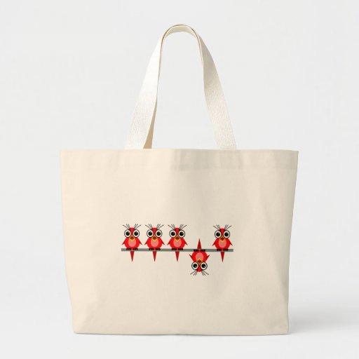 funny birds bags