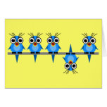 funny birds greeting cards