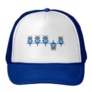 funny birds trucker hat
