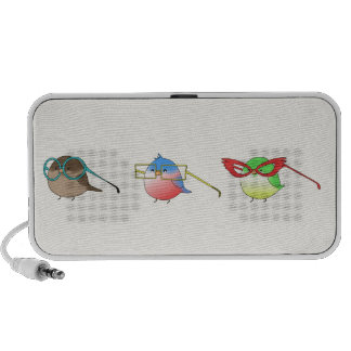 Funny birds mp3 speaker