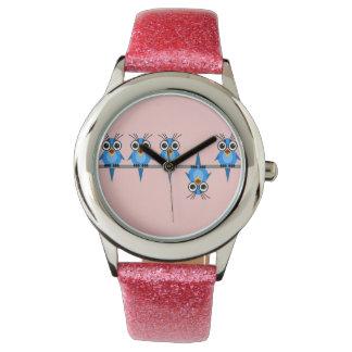 funny birds wristwatch