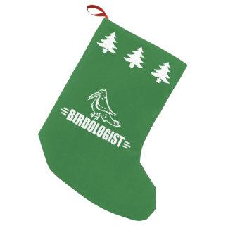 Funny Birdwatcher's Small Christmas Stocking