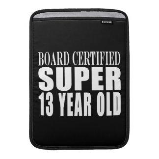 Funny Birthday B. Cert. Super Thirteen Year Old Sleeves For MacBook Air