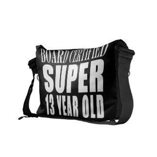 Funny Birthday B. Cert. Super Thirteen Year Old Courier Bag