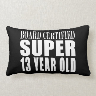 Funny Birthday B. Cert. Super Thirteen Year Old Throw Pillows