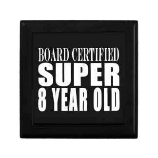 Funny Birthday B. Certified Super Eight Year Old Jewelry Box