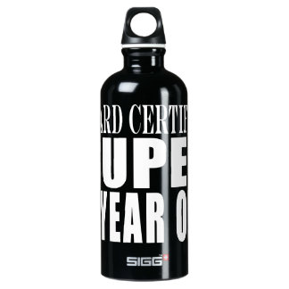 Funny Birthday B. Certified Super Eight Year Old SIGG Traveler 0.6L Water Bottle