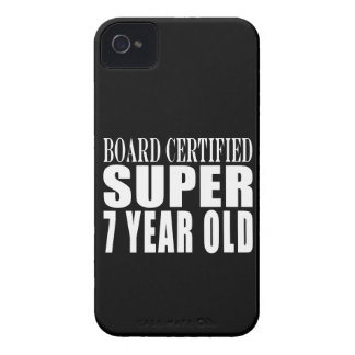 Funny Birthday B. Certified Super Seven Year Old iPhone 4 Cases