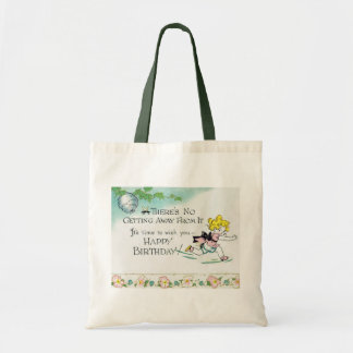 Funny Birthday Canvas Bags