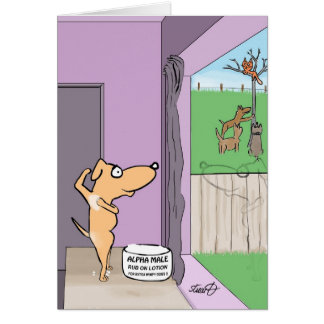 Funny Birthday Card for dog lovers