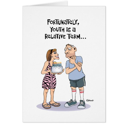 Funny birthday card for middle aged guy zazzle funny birthday card for middle aged guy bookmarktalkfo Choice Image