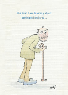 Funny Birthday Card For Old Man