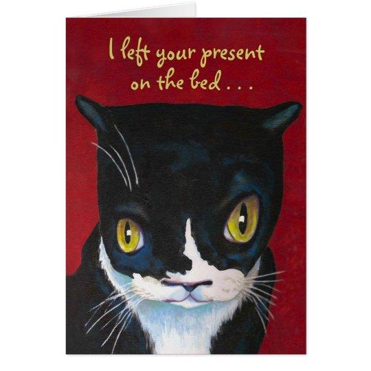 Funny Birthday Card From Cat Zazzle