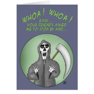 Funny Birthday Cards: A year older Greeting Card
