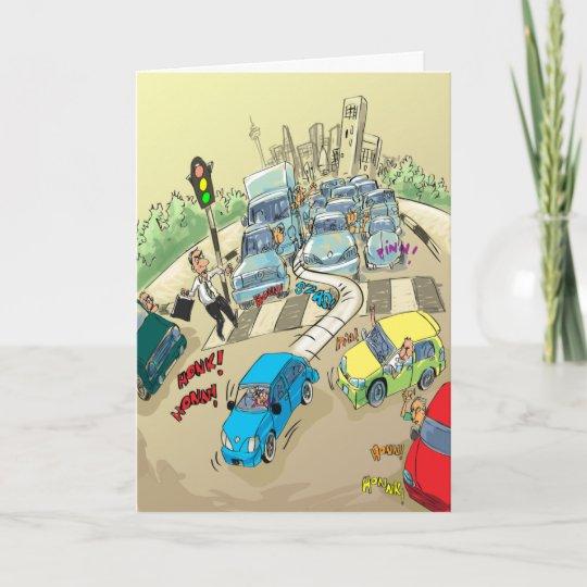 Funny Birthday Cards Bad Driver Zazzle