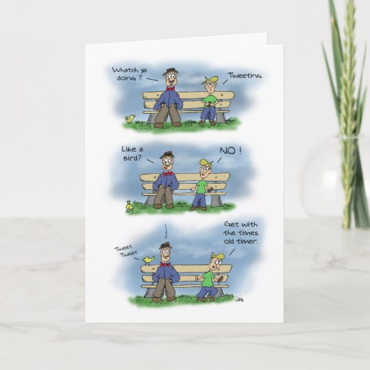 Funny Birthday Cards Getting Old Card Zazzle