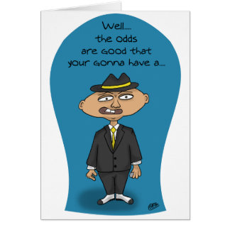 Funny Birthday Cards: Mobster Birthday