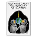 Funny Birthday Cards: NASA Officials Greeting Card