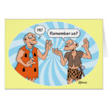 Funny Birthday Cards: Remember? Greeting Card