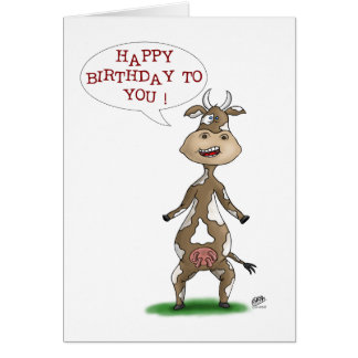 Funny Birthday Cards: Udderly Fantastic Birthday