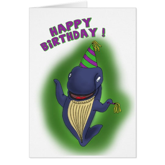 Funny Birthday Cards: Whale of a Birthday Card