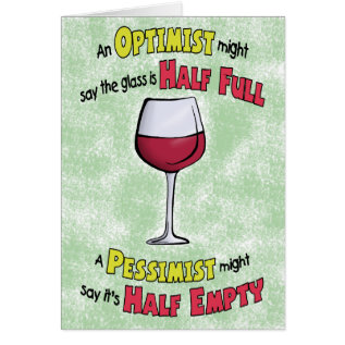 Funny Birthday Cards: Wine Philosophy Card at Zazzle