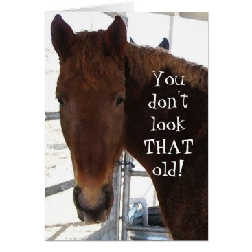 She_Wolf_Medicine Funny Birthday Compliment TWH Horse Western Card