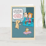 "Funny Birthday: Dog Rules Card<br><div class=""desc"">Here&#39;s a funny birthday card featuring a dog who is tired of living by the rules.</div>"