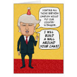 funny donald trump birthday card, funny donald