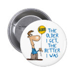 Funny Birthday Gift Buttons