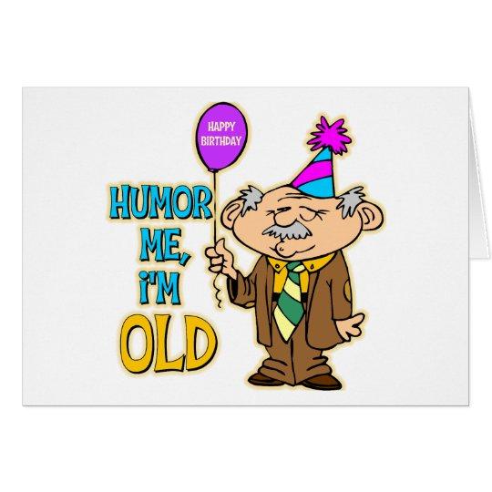 Funny Birthday Gift Card
