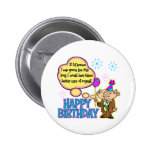 Funny Birthday Gift Pins