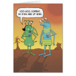 Funny Birthday: Jerky Alien Guy Card