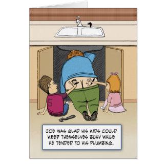 Funny Birthday: Joe the Plumber Card