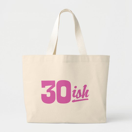Funny Birthday Large Tote Bag