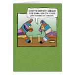 Funny Birthday: Pinata on Disability Greeting Card