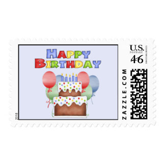 Funny Birthday Postage Stamp
