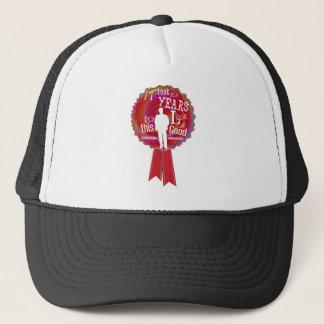 Funny Birthday Rosette for men Trucker Hat