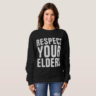 Funny Birthday T-shirts, Over the Hill Sweatshirt