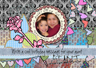 Funny Birthday Template Photo Card