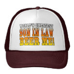 Funny Birthday Wedding Worlds Greatest Son in Law Trucker Hat