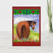 Funny Birthday Wishes Horses  Diet Cake Card